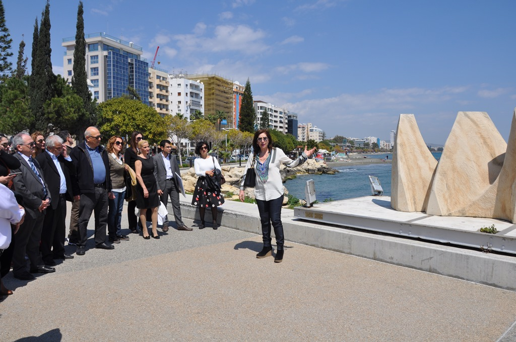 'Infopoint' digital information system for the Sculpture Park Limassol