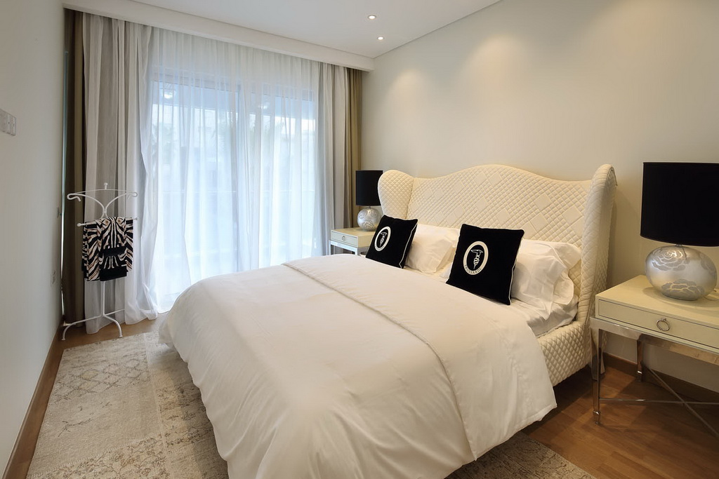 bedroom in Opera project