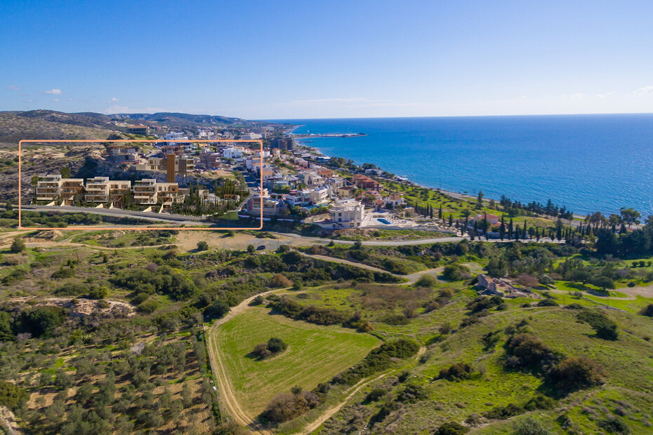 location of the project West hill by askanis in limassol cyprus