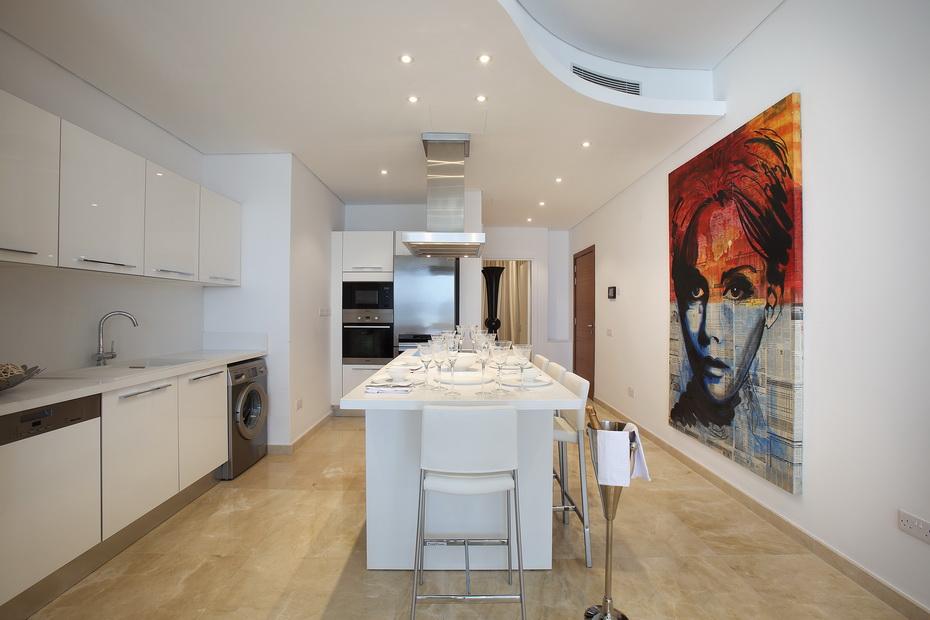kitchen in Opera Limassol cyprus