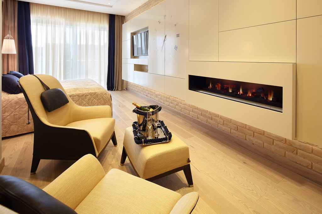 bedroom in opera by askanis with fireplace