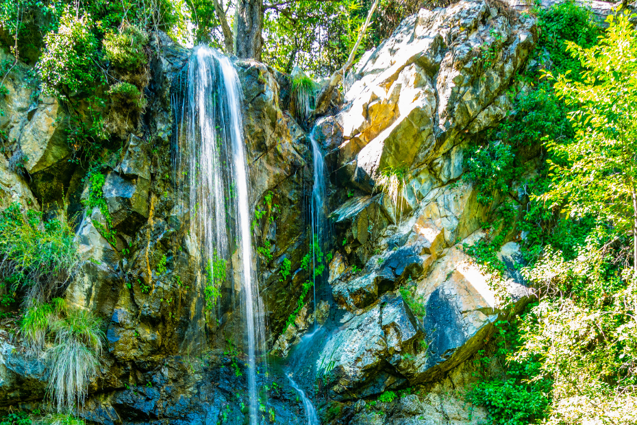 caledonia waterfalls cyprus