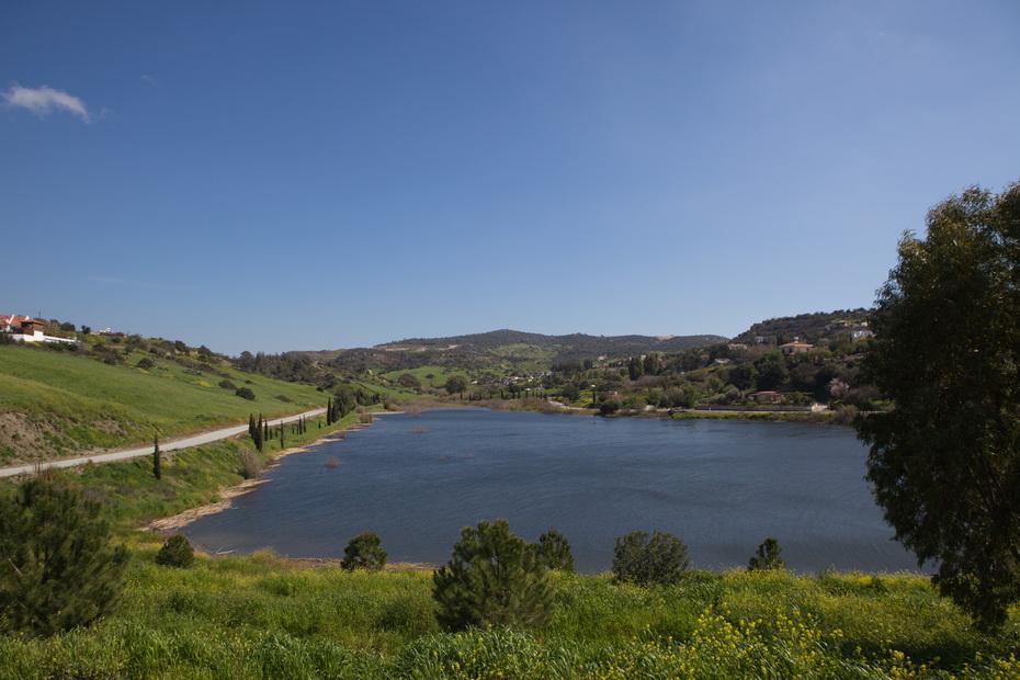 Germasogeia Dam cyprus