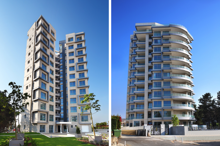 the address project built by construction company antonis askanis ltd