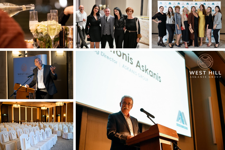 WEST HILL Project Launch Event by Askanis Group Limassol Amara Hotel