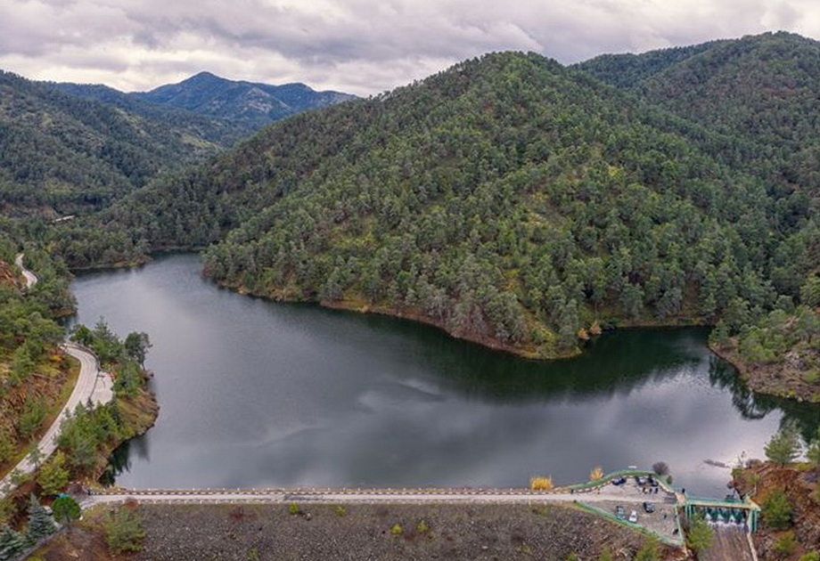 Xyliatou Dam cyprus